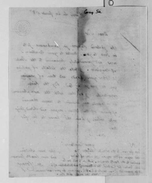 Louis Dominique de Corny to Thomas Jefferson, February 20, 1787