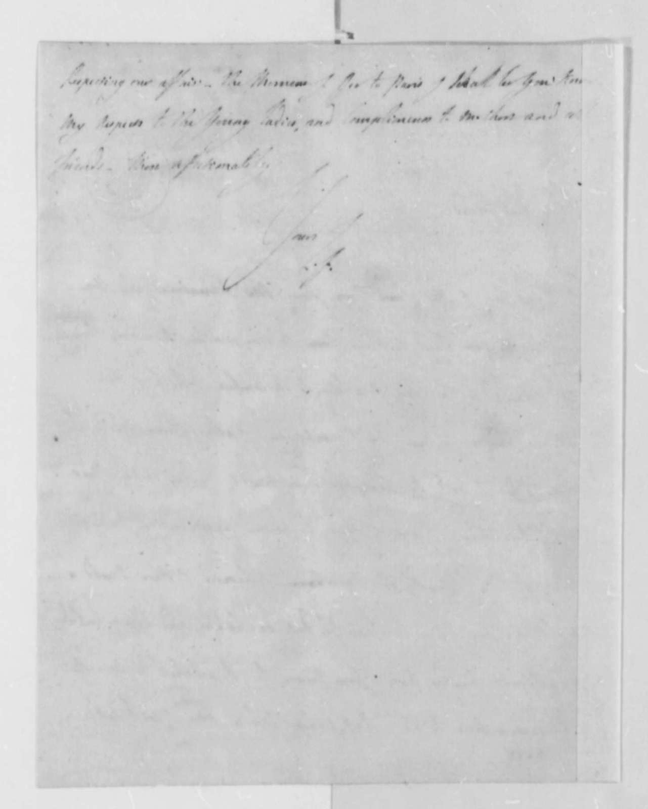 Marie Joseph Paul Yves Roch Gilbert du Motier, Marquis de Lafayette to Thomas Jefferson, September 18, 1787