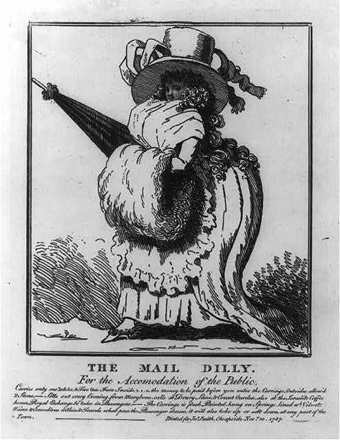 The mail dilly. For the accomodation of the public