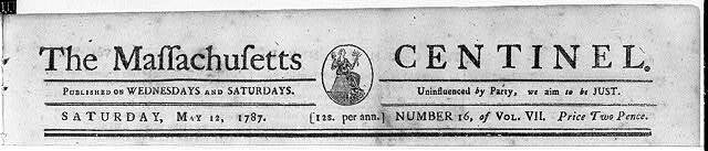 The Massachusetts centinel