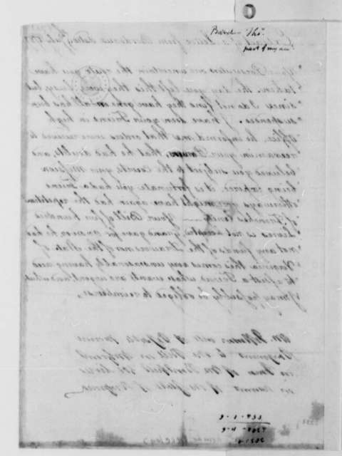 Thomas Barclay to Thomas Jefferson, July 9, 1787, Extract