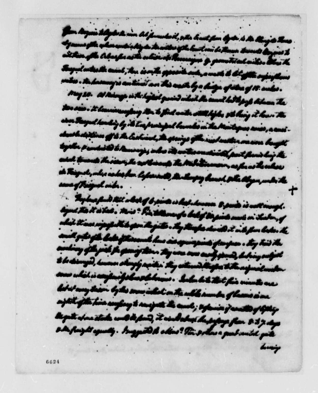 """Thomas Jefferson, May 15, 1787, """"Extract from notes made on a journey through the South of France 1787"""""""