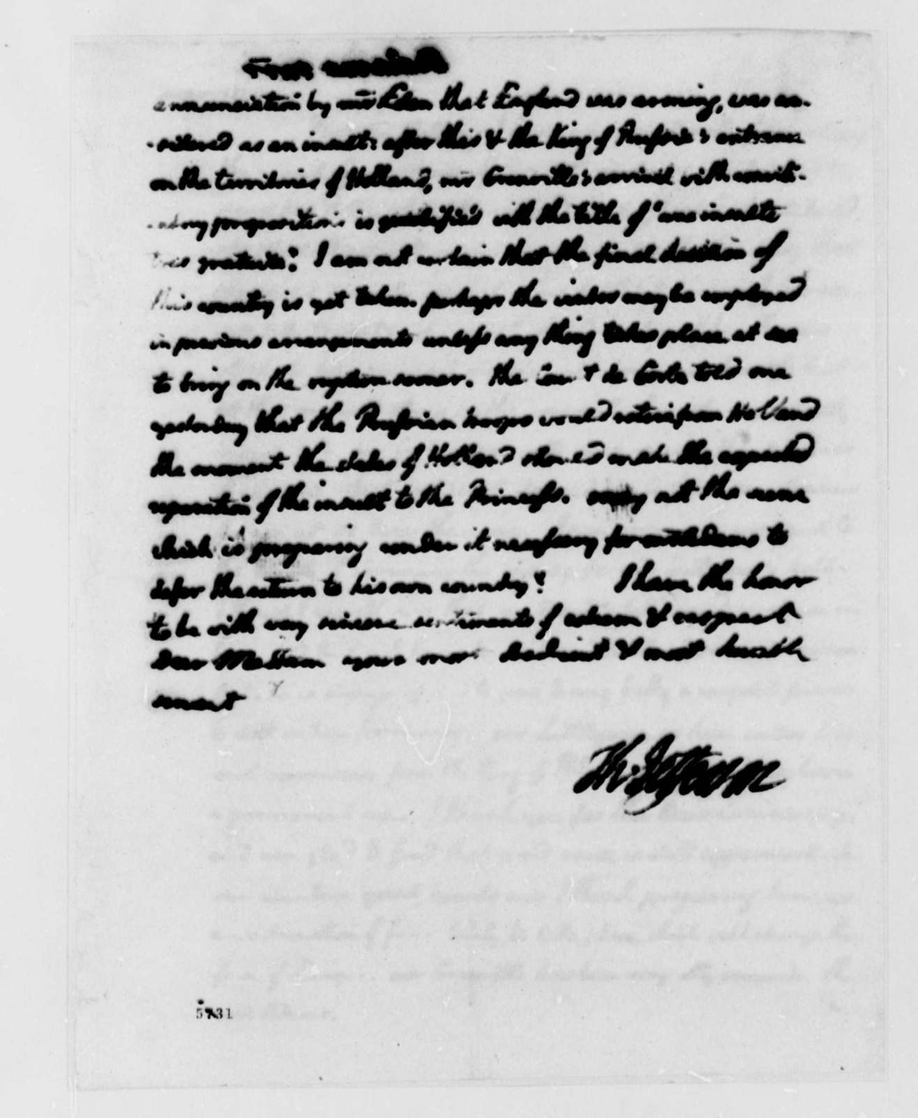 Thomas Jefferson to Abigail Smith Adams, October 4, 1787