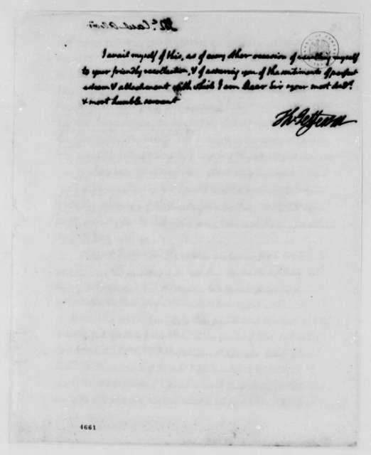 Thomas Jefferson to Alexander McCaul, January 4, 1787
