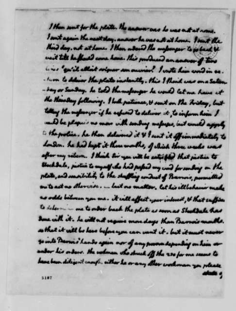 Thomas Jefferson to Andre Morellet, July 2, 1787