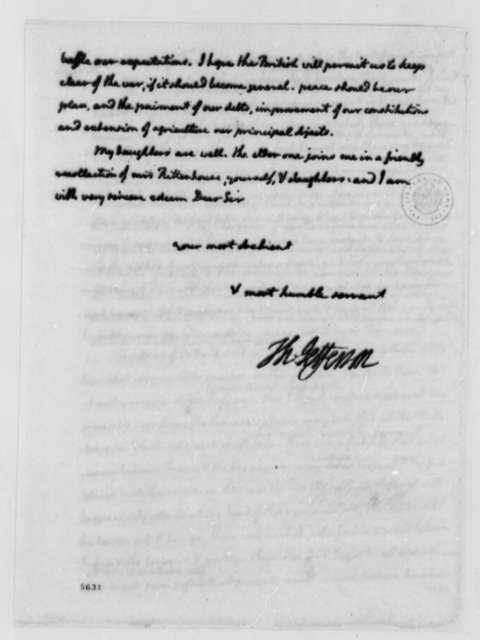 Thomas Jefferson to David Rittenhouse, September 18, 1787