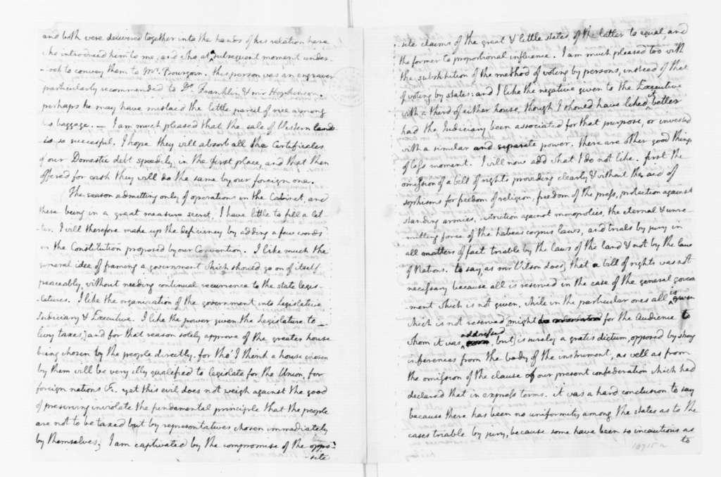 Thomas Jefferson to James Madison, December 20, 1787.