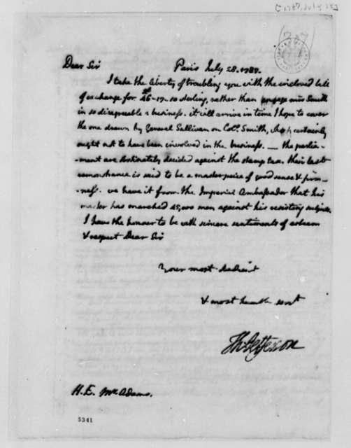 Thomas Jefferson to John Adams, July 28, 1787