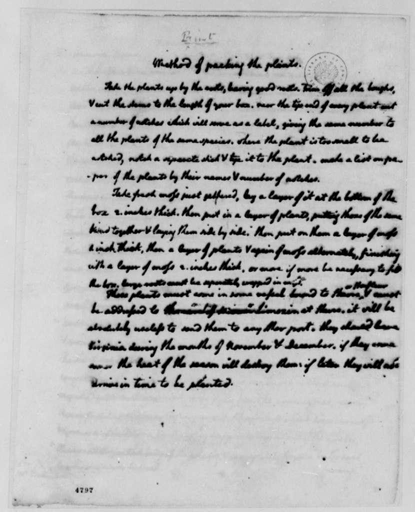 Thomas Jefferson to John Banister Jr., February 7, 1787