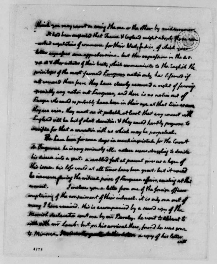 Thomas Jefferson to John Jay, February 1, 1787
