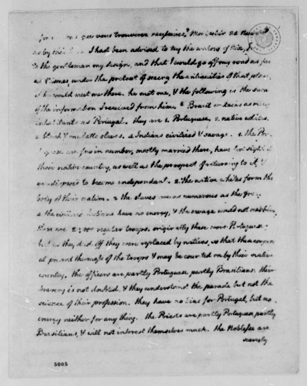 Thomas Jefferson to John Jay, May 4, 1787