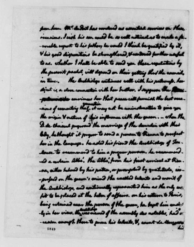 Thomas Jefferson to John Jay, November 3, 1787