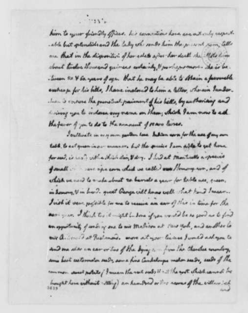 Thomas Jefferson to Nicholas Lewis, September 17, 1787