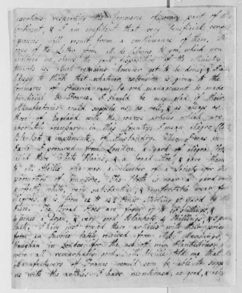 Thomas Jefferson to Philip Izard, April 4, 1787