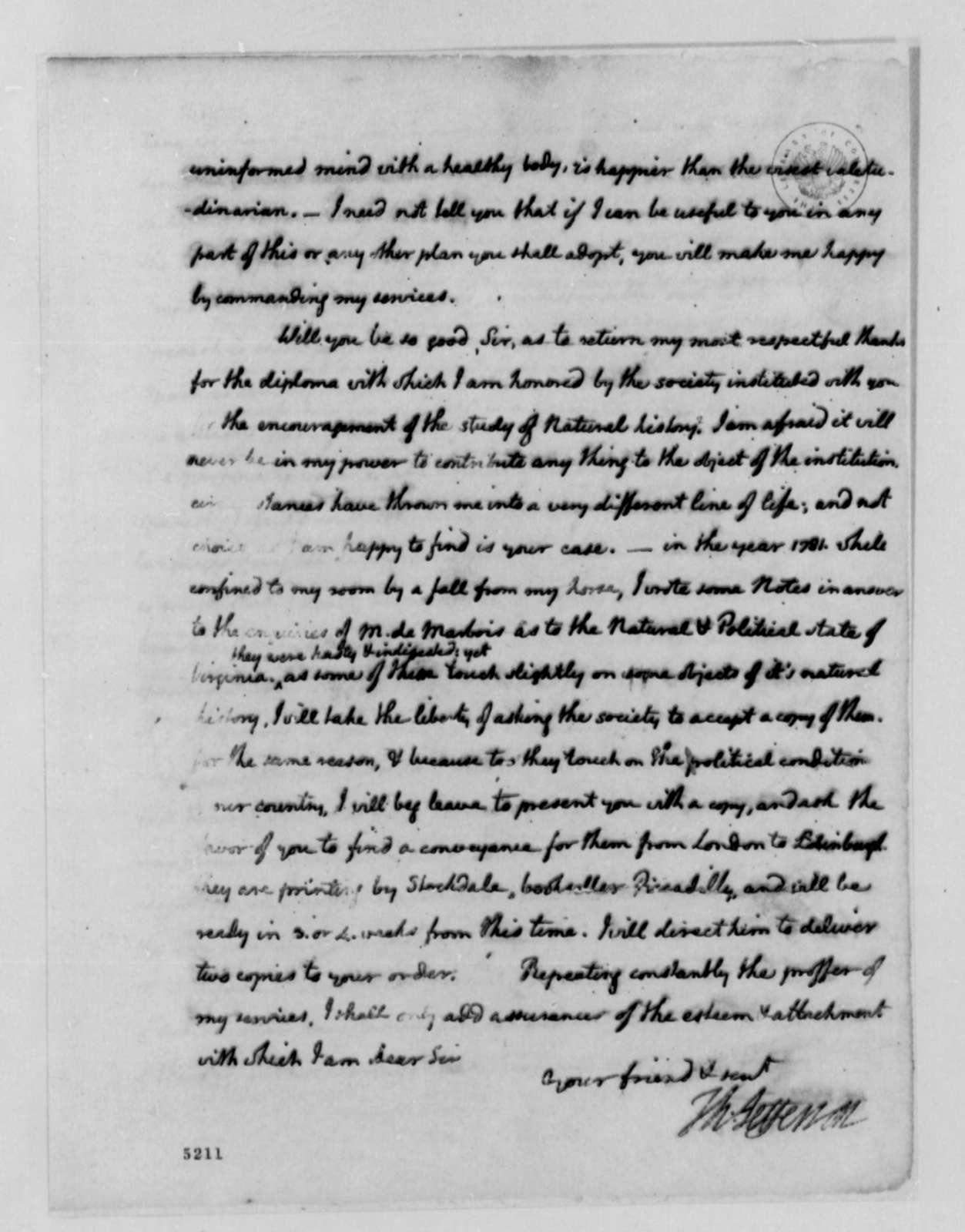 Thomas Jefferson to Thomas Mann Randolph Jr., July 6, 1787