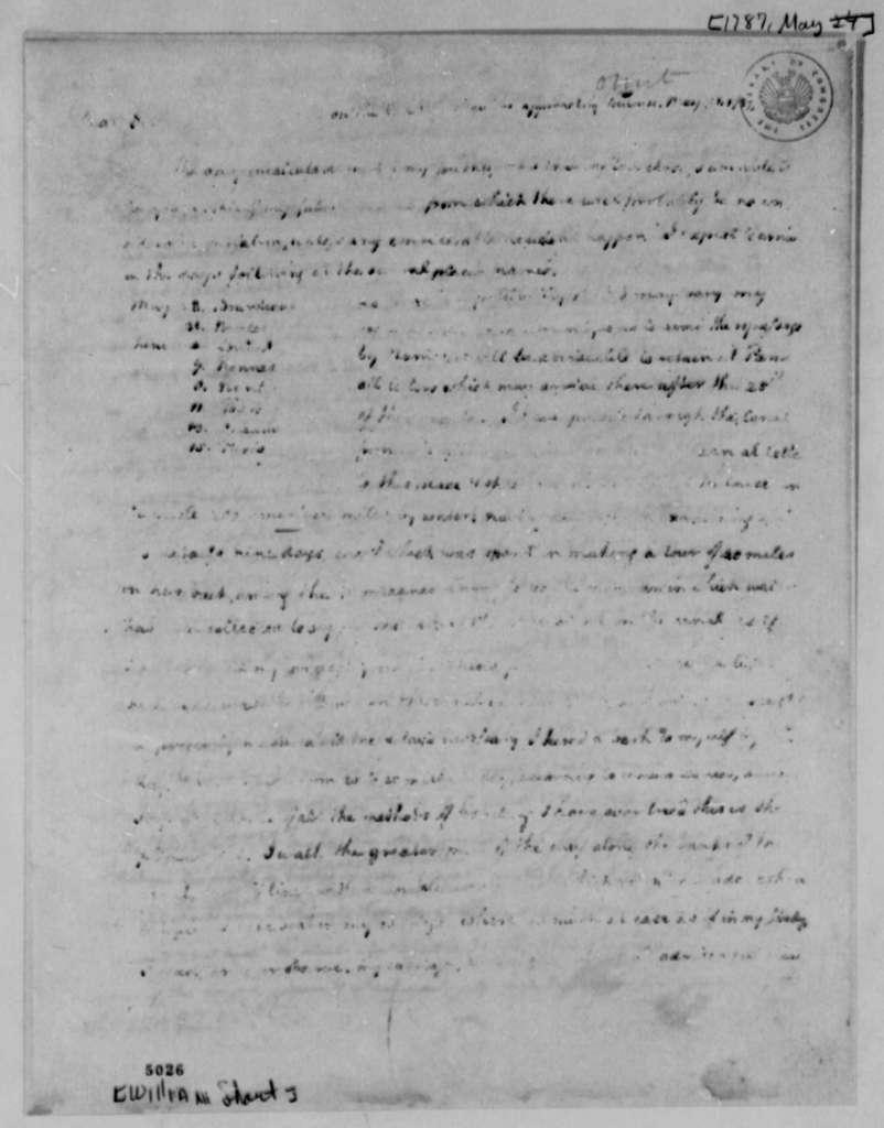 Thomas Jefferson to William Short, May 21, 1787