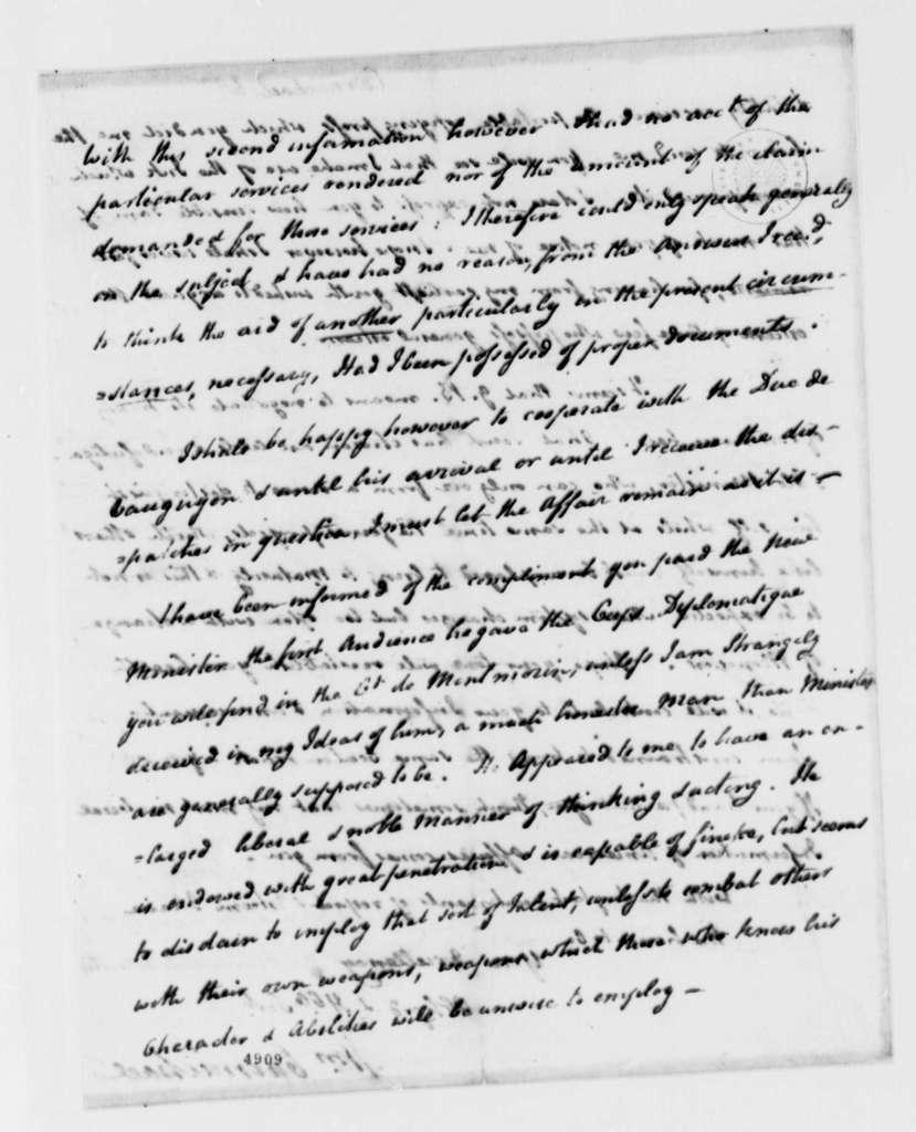 William Carmichael to Thomas Jefferson, March 25, 1787