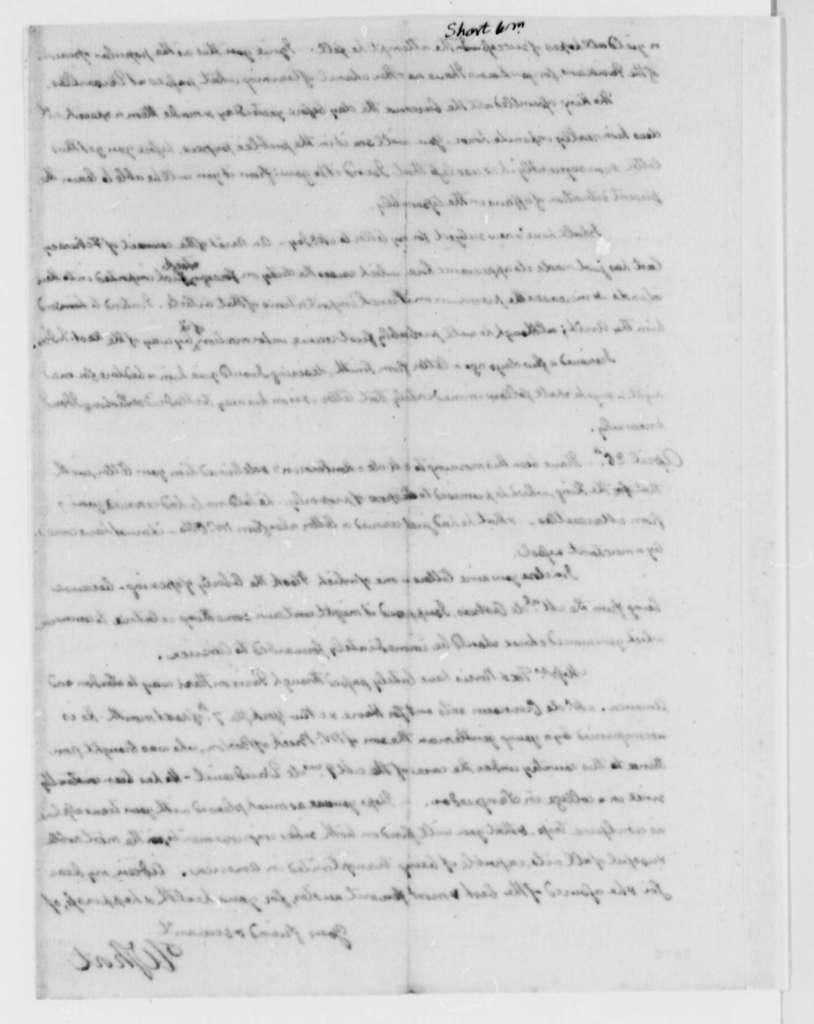 William Short to Thomas Jefferson, April 24, 1787