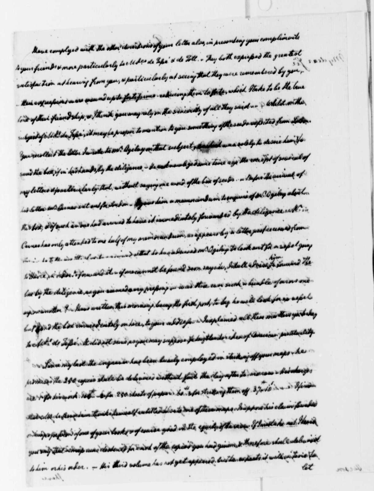 William Short to Thomas Jefferson, March 22, 1787