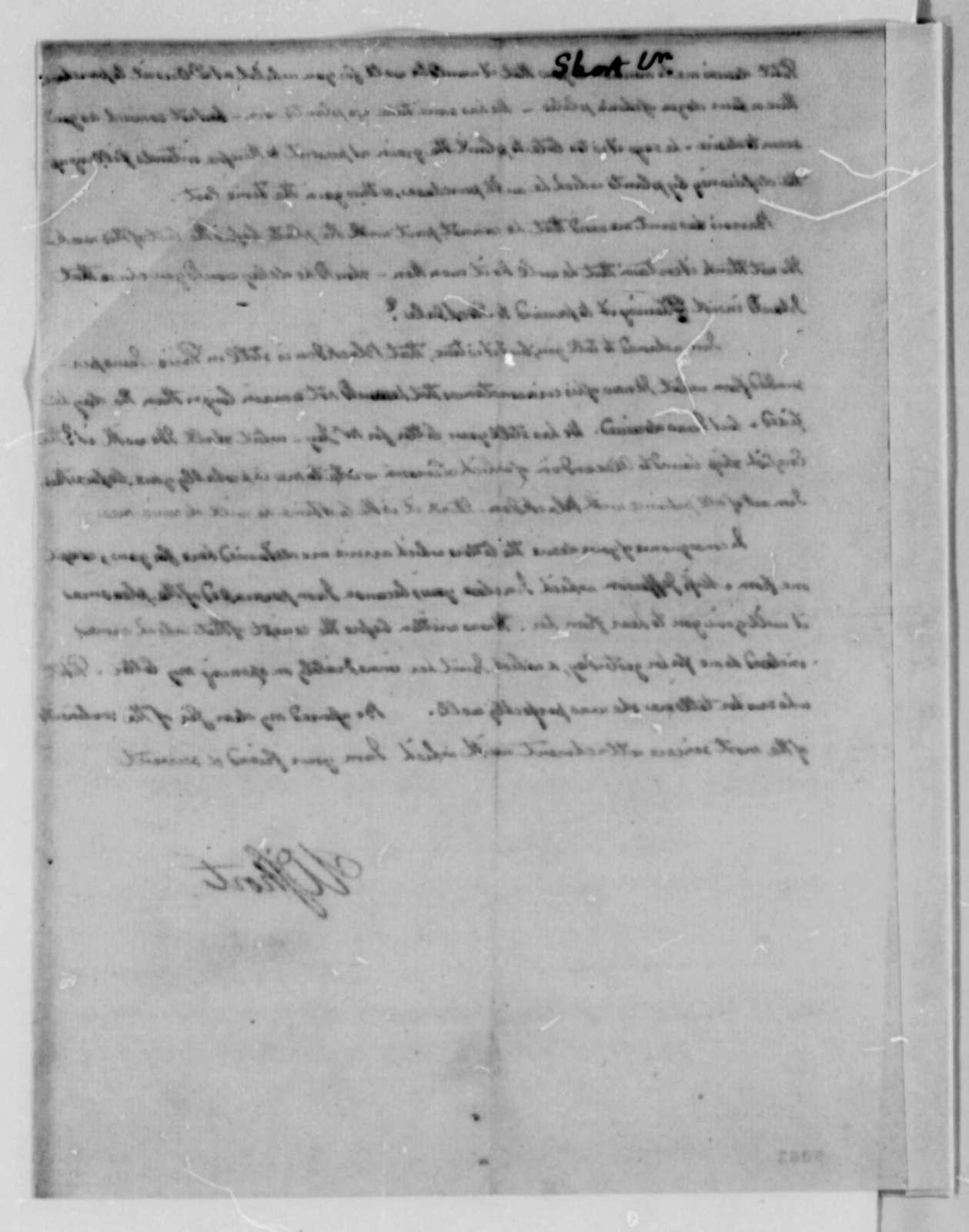 William Short to Thomas Jefferson, May 29, 1787