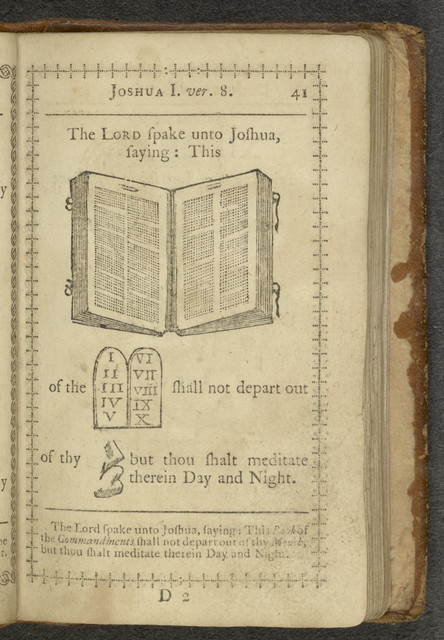A curious hieroglyphick Bible, or, Select passages in the Old and New Testaments, represented with emblematical figures, for the amusement of youth : designed chiefly to familiarize tender age, in a pleasing and diverting manner, with early ideas of the Holy Scriptures : to which are subjoined, a short account of the lives of the Evangelists, and other pieces / illustrated with nearly five hundred cuts.