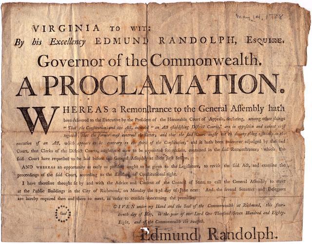 A proclamation