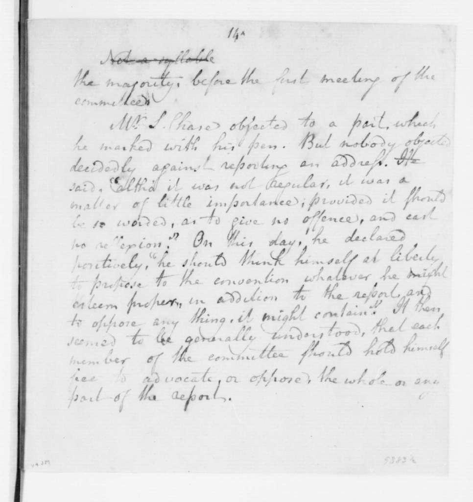 Alexander Contee Hanson to Maryland Citizens, June 2, 1788. Address.