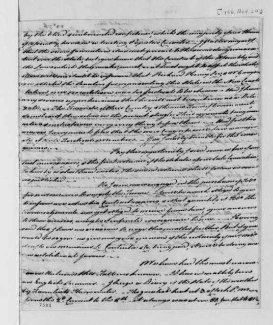 Alexander Donald to Thomas Jefferson, November 24, 1788