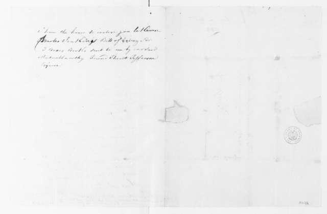 André Limozin to James Madison, January 10, 1788.