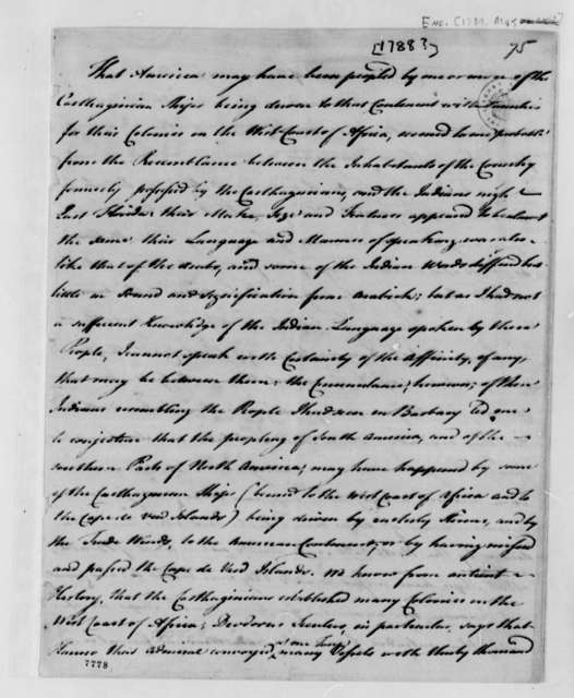 Andrew Turnbull to Edward Rutledge, 1788