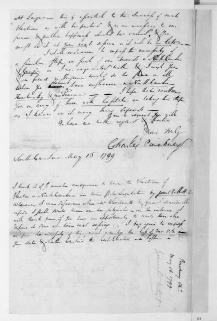 Charles Pinckney to James Madison, May 16, 1788.