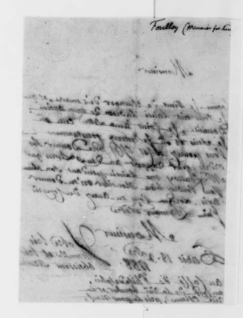Jean Nicholas Demeunier to Thomas Jefferson, December 18, 1788, in French