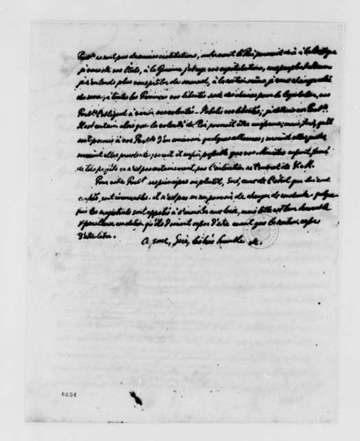 Parlement of Paris, May 4, 1788, Address to King of France; in French