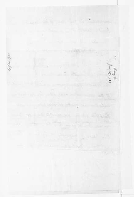 Rufus King to James Madison, January 27, 1788.