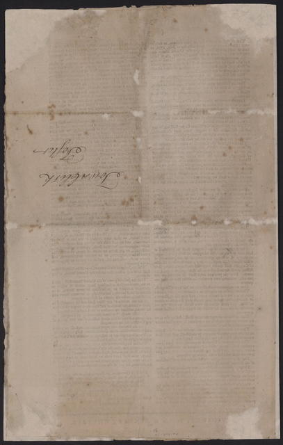 State of Rhode-Island, and Providence-Plantations. In General Assembly, October session, 1788 : Whereas His Excellency George Clinton, Esq; president of the Convention of New-York, hath transmitted to the legislature of this state a proposal ... It is therefore voted and resolved, that the secretary forthwith cause to be printed a sufficient number of copies of Governor Clinton's letter, with the amendments proposed by the convention of the State of New-York ...
