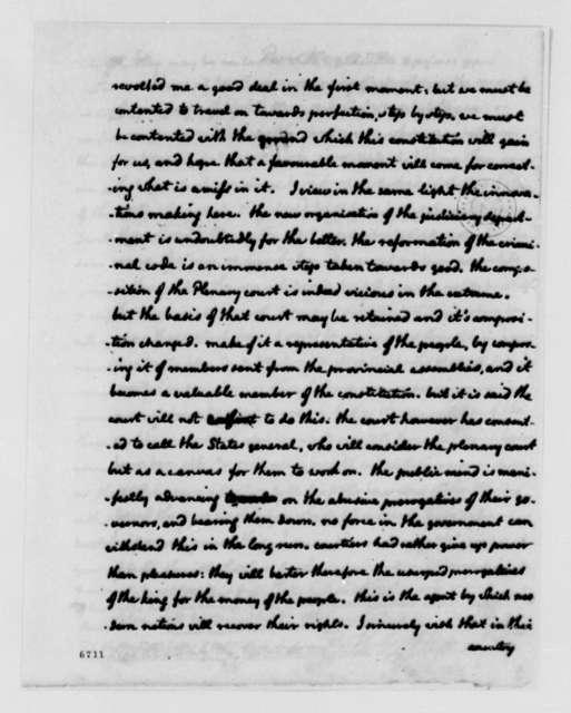 Thomas Jefferson to Eleonore Francois Elie, Comte de Moustier, May 17, 1788