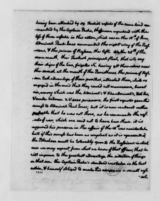 Thomas Jefferson to John Jay, August 3, 1788, Sent with Extracts from Silas Deane's Papers