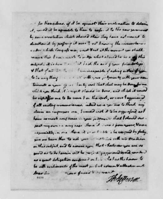 Thomas Jefferson to John Jay, May 15, 1788