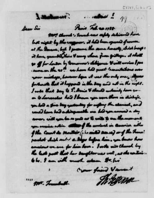 Thomas Jefferson to John Trumbull, February 20, 1788