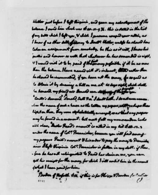 Thomas Jefferson to Nicholas Lewis, July 11, 1788