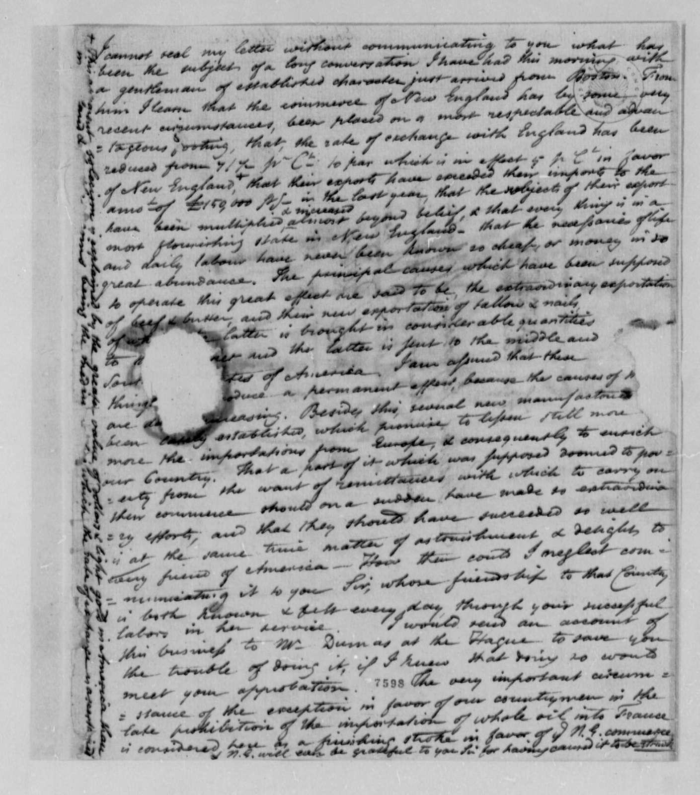 Thomas Lee Shippen to Thomas Jefferson, November 28, 1788