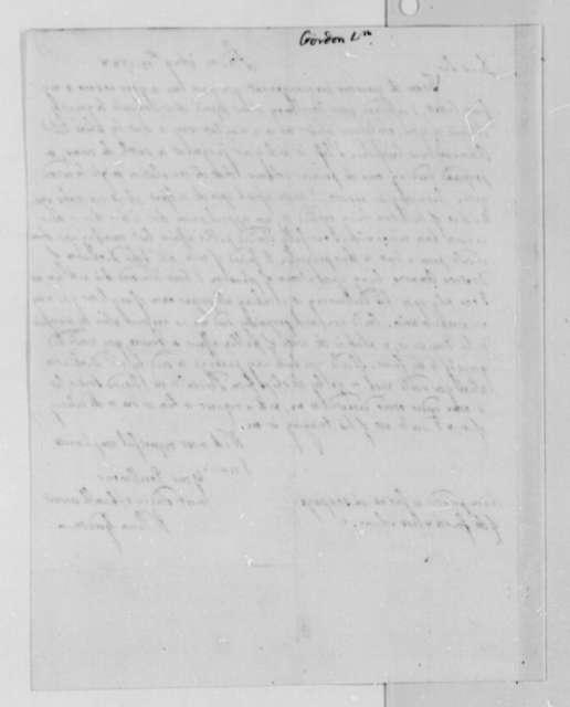 William Gordon to Thomas Jefferson, August 15, 1788