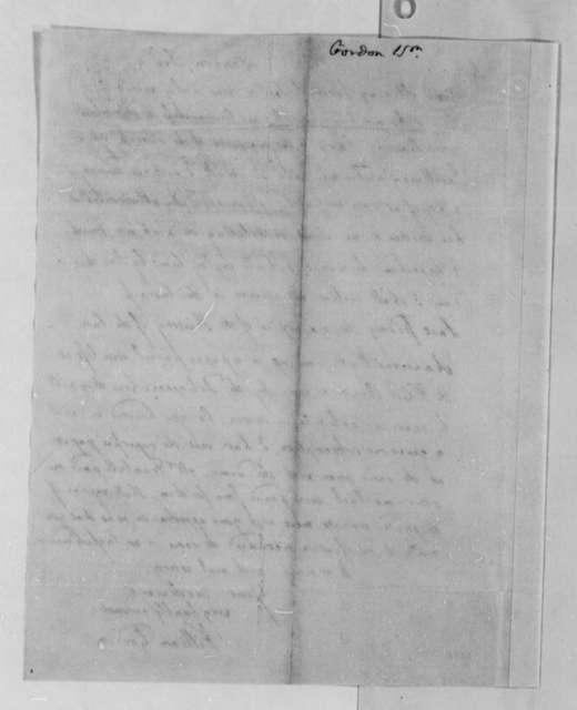 William Gordon to Thomas Jefferson, December 9, 1788
