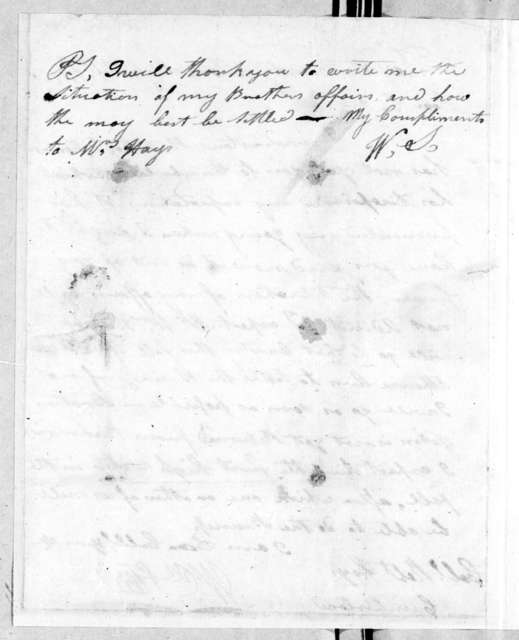 William Steele to Robert Hays, September 8, 1788