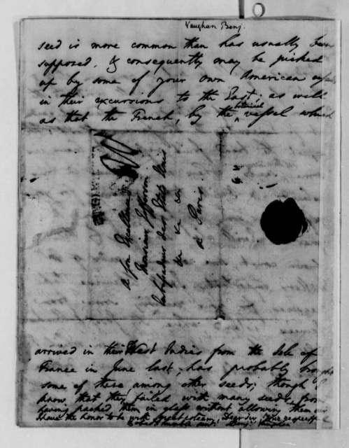 Benjamin Vaughan to Thomas Jefferson, March 17, 1789