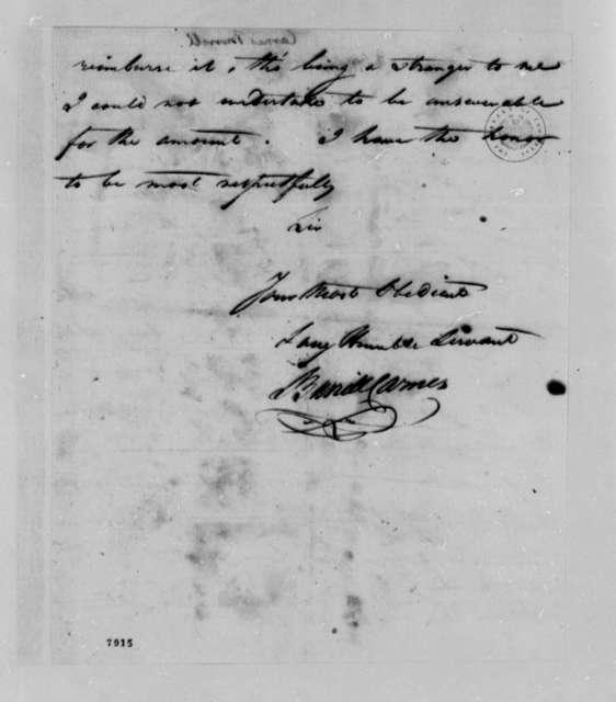 Burrill Carnes to Thomas Jefferson, January 23, 1789