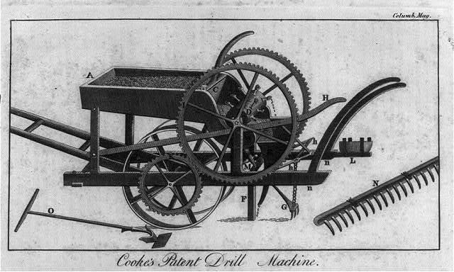 Cooke's Patent Drill Machine