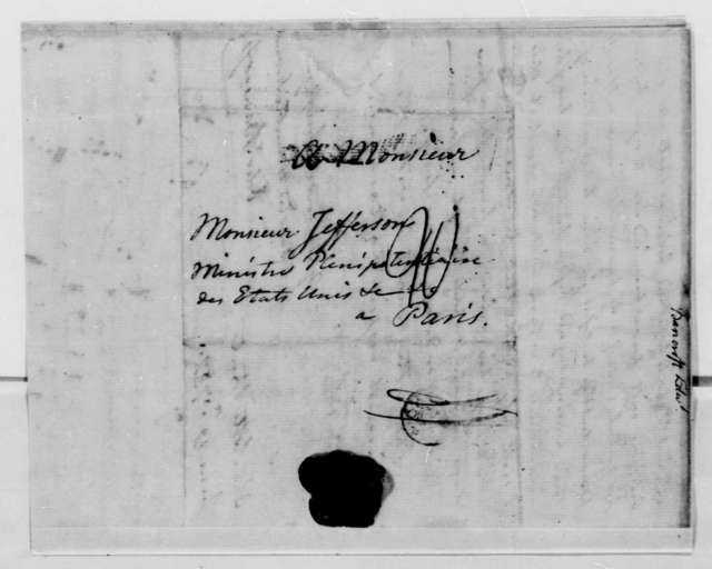 Edward Bancroft to Thomas Jefferson, June 19, 1789