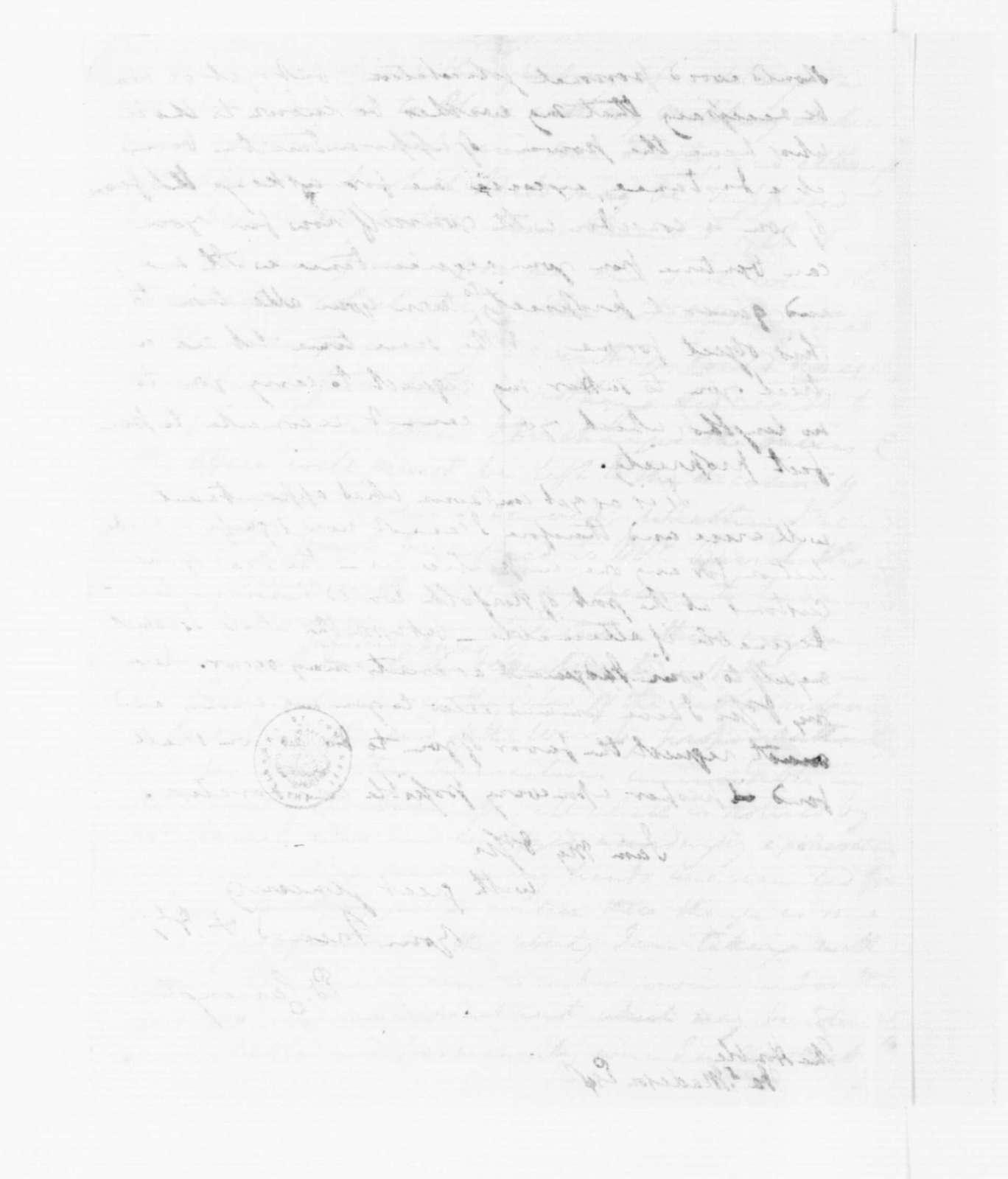 Edward Carrington to James Madison, February 20, 1789.