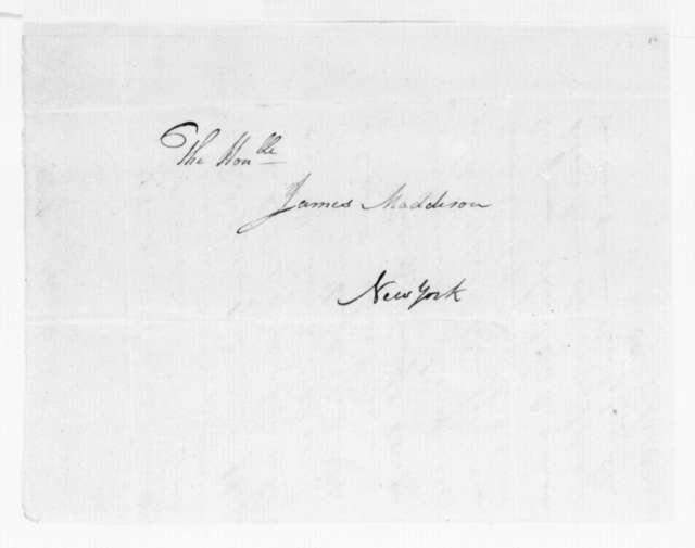 Elias Langham to James Madison, March 15, 1789.